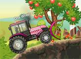 Игра Приключения на мощном тракторе
