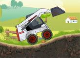 Игра Мощный трактор 2