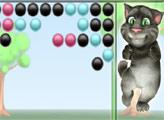Игра Кот Том - стрельба пузырями
