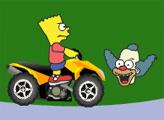 Игра Барт на квадрацикле