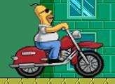 Игра Мотобайк Гомера