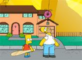Игра Дай пинка Гомеру