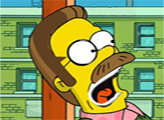 Игра Симпсоны: найди алфавит