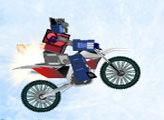 Игра Трансформеры: Зимняя мотогонка