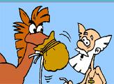 Игра Раскраска: Конь Юлий и Тихон
