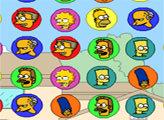 Игра Симпсоны: три в ряд