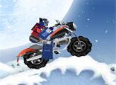 Игра Трансформеры: снежная трасса