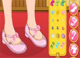 Игра Принцесса Мулан: Дизайн обуви