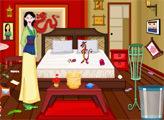 Игра Мулан: уборка комнаты