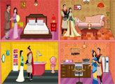 Игра Мулан: кукольный домик
