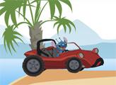 Игра Лило и Стич: пляжная гонка