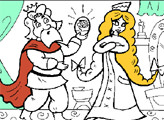 Игра Раскраска: Забава и Князь Киевский