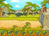Игра Индиана Джонс: наступление динозвавров