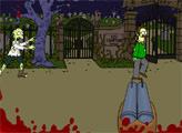 Игра Охота на зомби Симпсонов