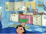 Игра Лило и Стич: на кухне