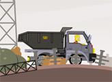 Игра Симпсоны: гонка на грузовике