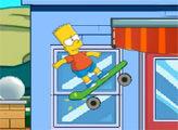 Игра Барт Скейтбордист 2