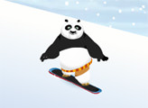 Игра Кунг Фу Панда: По Сноубордист