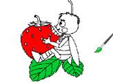 Игра Друзья Лунтика - Раскраска: Пчеленок