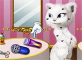 Игра Анжела в парикмахерской