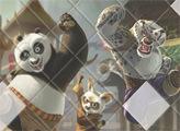 Игра Кунг Фу Панда: пазл
