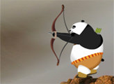 Игра Кунг Фу Панда: лучник