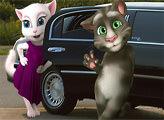 Игра Пазл - Лимузин Тома и Анджелы