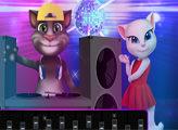 Игра Том и Анджела на дискотеке