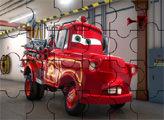 Игра Пазл - Байки Мэтра - Пожарный Мэтр