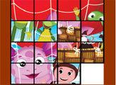 Игра Пятнашки - Лунтик и его друзья