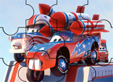 Игра Пазл - Байки Мэтра - Мэтр и Маккуин каскадеры