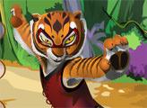 Игра Кунг Фу Панда: Костюм для тигрицы