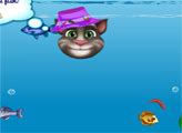 Игра Говорящий Том на рыбалке