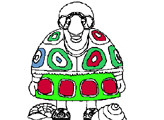 Игра Друзья Лунтика - Тётя Мотя - Раскраска