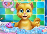 Игра Джинджер в ванной