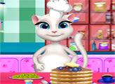 Игра Анжела готовит блины