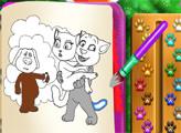 Игра Том и Анжела книжка-раскраска
