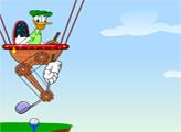 Игра Воздушный гольф Дональд Дака
