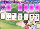 Игра Минни Маус и пасьянс косынка