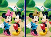 Игра Шесть отличий - Микки Маус
