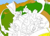 Игра Луни Тюнз: раскраска