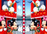 Игра Микки и друзья - найди отличия