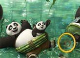 Игра Кунг Фу Панда 3: найди буковки