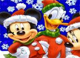 Игра Пропавшие новогодние цифры и Микки