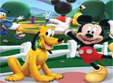 Игра Мир пазлов Микки Мауса
