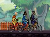 Игра Аватар легенда об Аанге: велогонка