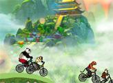 Игра Кунг Фу Панда: велогонка