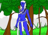 Игра Аватар: раскраска