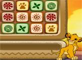Игра Король лев: три в  ряд