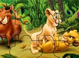 Игра Король лев: 3d пазл